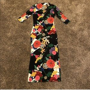 Alice + Olivia Dresses - Alice Olivia Delora Valley Lake Floral Dress Sz 2